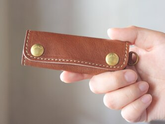 【単品販売】本革 ハンドル カバー 持ち手カバー  茶2  重さ軽減/汚れ防止 エコバック キャンバス バッグ が おしゃれ にの画像