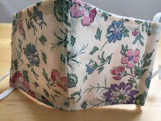 リバティ✳︎花柄マスクの画像