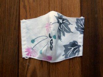 両面手ぬぐい布の立体マスクの画像