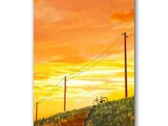 「ココロがゆれた日」 ほっこり癒しのイラストポストカード2枚組 No.1064の画像