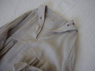 Sailor collar embroidery one  piece(予約販売)の画像