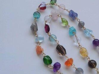 *mix gem necklaceの画像