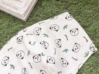 立体マスク パンダ キッズ オトナの画像