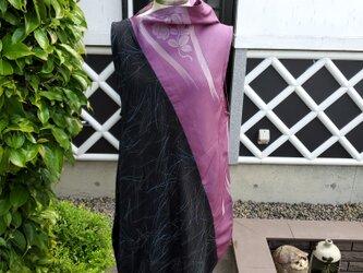 着物リメイク ハンドメイド ジャンパースカートの画像
