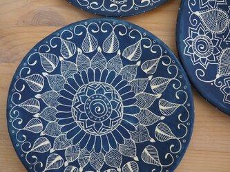 青いお皿(中1)の画像