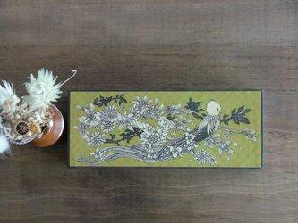 【紙の箱】ペンケース鳥柄の画像