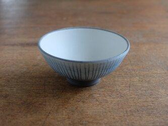 インディゴ めし碗(線)の画像