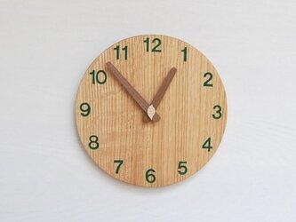 直径20.0cm 掛け時計 オーク【2022】の画像