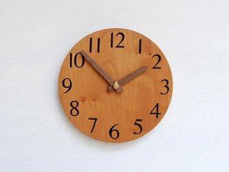 直径20.0cm 掛け時計 チェリー【2023】の画像