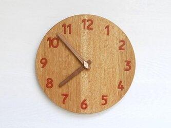 直径25.0cm 掛け時計 オーク【2025】の画像