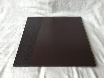 漆塗りの敷膳(紫・ろ)の画像