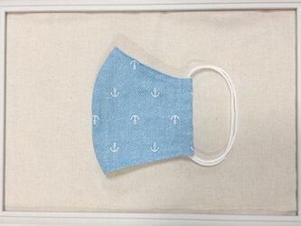お肌にやさしい立体マスク 大人用 送料無料 ダブルガーゼ使用の画像