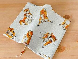 柴犬のブックカバー コミック・新書用の画像