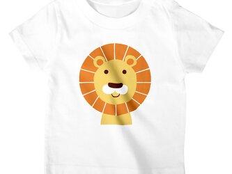ライオン Tシャツ/カットソー キッズ フリーサイズ アパレル/アニマルモチーフの画像