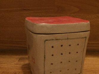 飴や梅干し入れ 2 陶箱の画像
