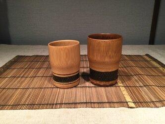 竹カップの画像
