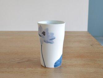 【ご予約】ハス・チューリップ・こぶしの花 ロンググラスMの画像