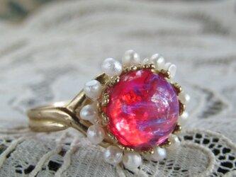 希少アンティークのリングの画像