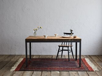 [造船古材]ダイニングテーブル(標準サイズ):Vintage Standard Table【受注生産】の画像