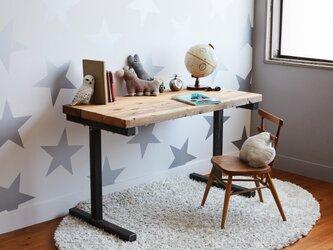 [造船古材] 学習机 兼 ワークデスク:Vintage LongLife Design Desk【受注生産】の画像