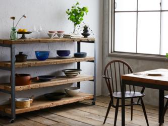 [造船古材] 収納棚:Vintage Shelf(※オーダーメイド対応可)【受注生産】の画像
