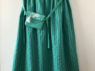 レース織スカート(ポシェット付き)の画像