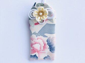 (芍薬)元巫女の花のお守り袋の画像