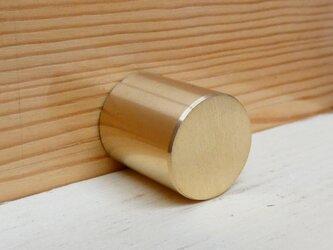 Φ16㎜ 真鍮無垢 円柱型のシンプルなツマミ /  小物入れや引き出しなどに。 DIY家具 取っ手 通販。おしゃれ、の画像