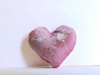 祈りの匂い袋〜香りむすび〜 ハート香 ピンク猫の画像