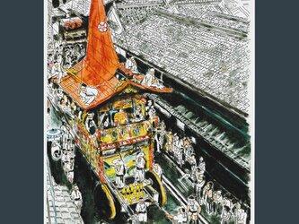 A4サイズ「祇園祭 長刀鉾」の画像