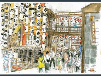 A4サイズ「祇園祭 鉾を楽しむ」の画像