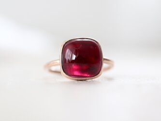 K10[framboise jamのガーネット]ringの画像