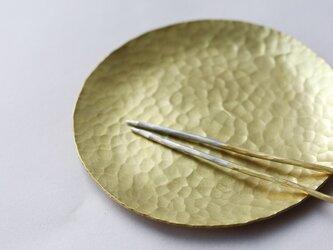 おつまみセット(真鍮皿+真鍮ピック)の画像