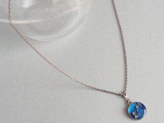 「黄道十二星座」シンプルで華奢なネックレスの画像