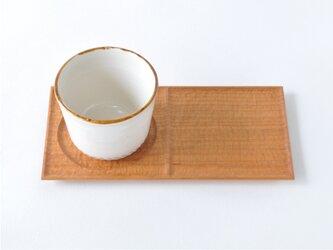 カフェプレート(ワンプレート仕様・ヤマザクラ材)の画像