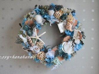 海風の波音wreathの画像