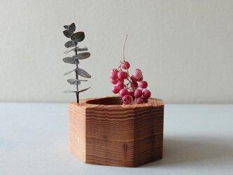 屋久杉の花器(B)の画像