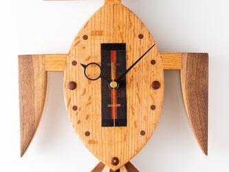 木の時計:カツオドリⅡの画像