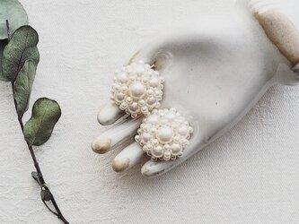 ◆イヤリング◆◆standard◆◆*modern*/パール*bouquet de mariée*の画像