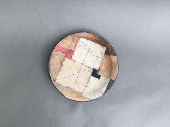 化粧掻き落とし文様 皿117の画像