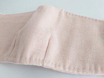 [送料無料]ダブルガーゼの立体マスク/ピンクの画像