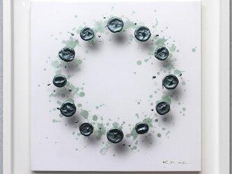 浮遊する筆触 【Layer 20121】 S6号 41 x 41cmの画像