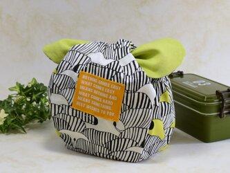 ころんと可愛いお弁当袋♪ きゅっとぷち袋(少し大きいサイズ) :B4の画像