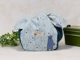 ころんと可愛いお弁当袋♪ きゅっとぷち袋(少し大きいサイズ) :B6の画像