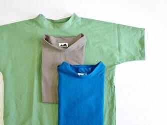 SMOCKNECK | COTTONLINEN GREEN/ FREESIZE,UNISEXの画像
