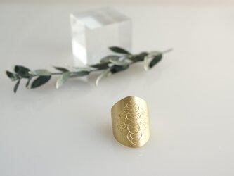 メタルリング(ゴールドーカラー)の画像