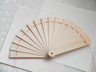 再出品 檜扇 14橋 ミニサイズ 1/3 試作の画像