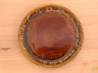 アメ釉平皿②の画像