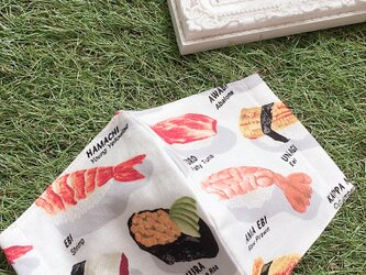 夏向け 立体マスク  キッズ オトナ 寿司喰いねぇ〜の画像