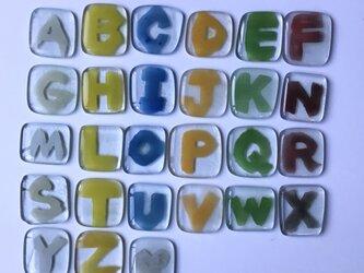 ABCガラスタイルセットの画像